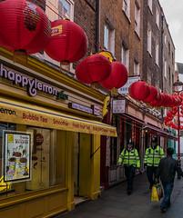 Alleyway -  China Town - London (Panasonic Lumix LX100) (markdbaynham) Tags: street leica city uk urban london westminster lumix zoom capital central panasonic gb fixed ft metropolis dmc 43rd 43 lx londoner londonist fourthirds evf lx100 2475mm f1728 lumixer