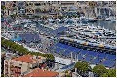 Port Hercule/Monaco (Cervusvir) Tags: france beach strand frankreich montecarlo monaco fontvieille francia plage alpesmaritimes mediterranee mittelmeer sea french mediterranean cte meeralpen dazur riviera