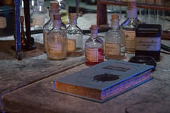 Making.... (Cathy G) Tags: uk canon harrypotter chemistry hogwarts snape hertfordshire watford potions lseries canon24105mm potionsclass canon7d harrypotterstudiotour makingpotions