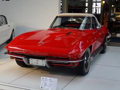 1965 Chevrolet Corvette Stingray (harry_nl) Tags: chevrolet museum belgium belgique stingray belgië bruxelles corvette brussel autoworld 2016 ccar