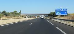 A-66-15 (European Roads) Tags: de la sevilla andaluca spain plata andalusia alto venta santiponce autova a66 gerena algaba