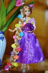 Princess 08 (Lindi Dragon) Tags: doll dolls disney kinder rapunzel disneystore disneyprincess
