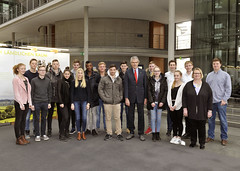 """Besuch von Schülerinnen und Schülern der Oberstufe des St. Anna Gymnasium in Wuppertal • <a style=""""font-size:0.8em;"""" href=""""http://www.flickr.com/photos/38352417@N02/25127796965/"""" target=""""_blank"""">View on Flickr</a>"""
