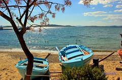 Live your dream  in Greece * Colours from Greece with Love  (George @) Tags: travel blue sunset sea sun beach nature water landscape photography george amazing fantastic eyes perfect holidays colours view magic greece macedonia passion romantic timeless naturephotography  macedonian landscapephotography makedonia beautifulplace       visitgreece greekphotographers     macedoniagreece europeanphotography