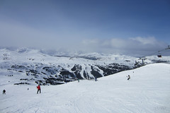 at your leisure (~ Mariana ~) Tags: friends sky panorama snow canada ski clouds canon landscape banff rockymountains mariana sunshinevillage saariysqualitypictures outstandingromanianphotographers marculescueugendreamsoflightportal