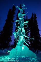 Ice Art - Bean Stalk