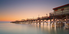 The Left Side (josesuro) Tags: longexposure beach digital sunrise landscapes florida piers 2016 redingtonbeach floridagulfcoast leebigstopper afsnikkor1835mmf3545ged jaspcphotography nikond750