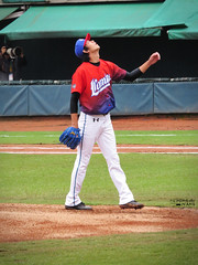 IMG_3740_副本 (vivian_10202) Tags: baseball taoyuan cpbl lamigo 王溢正