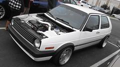 1992 Volkswagen GTI (splattergraphics) Tags: vw volkswagen 1992 gti carshow huntvalleymd volksrod huntvalleytownecentre huntvalleyhorsepower