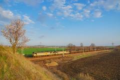 Early Spring (cossie*bossie) Tags: electric train spring oscar wilde rail db double class bulgaria copper burgas 92 freight locomotives concentrate kipling 025 schenker ews 034 balgarovo