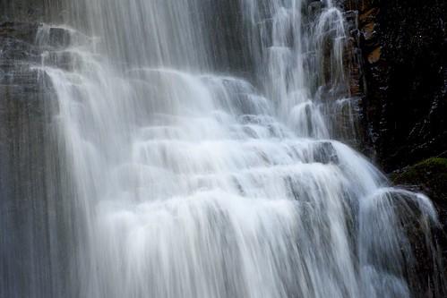 Close-up of Fairy Falls
