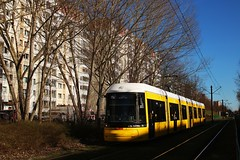 Flexity Berlin 9011 (Hannes Eisenach) Tags: berlin tram berliner frhling bvg nahverkehr verkehrsbetriebe strasenbahn flexity f8z