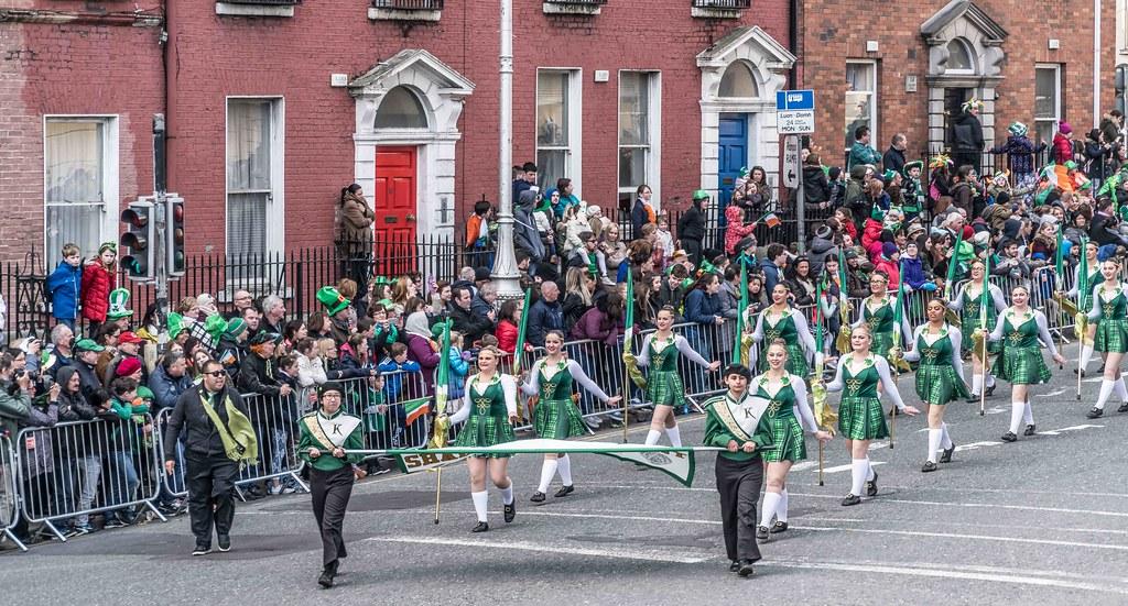 John F. Kennedy High School (Shamrock Regiment), California [St. Patrick's Parade 2016]-112637