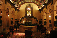 Biltmore Hotel Rendevous Lounge (Jan Nagalski) Tags: losangeles downtown interior lounge teaparty rendezvous biltmorehotel historicbuilding luxuryhotel millenniumbiltmorehotel buildinginterior historichotel canon60d jannagal jannagalski
