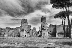 Terme di Caracalla (leosagnotti) Tags: rome primavera spring terme caracalla
