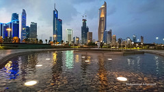 Kuwait City (dawey [Mohammad Alhameed]) Tags: city travel reflection building landscape photography cityscape outdoor kuwait kuwaitcity 2016 toews dawey mohammadalhameed sonyxperiaz5premium