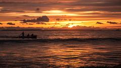 Rowers at sunrise (Kiwi-Steve) Tags: sea newzealand seascape colour reflection nature sunrise landscape nikon nz rowing northisland rowboat rower tauranga papamoabeach bayofplenty papamoa nikond90