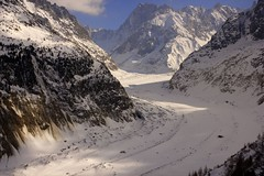 Mer de glace - Biggest glacier in France (pelpa_666) Tags: travel winter mer holiday snow france mountains canon de photography europe angle wide sigma valle glacier thealps 1855 chamonix 1020 mont blanc hdr montblanc glace blanch merdeglace apls photomatrix valleblanche canon550d