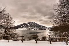 Lago Di Campotosto (Lifemusic82) Tags: italy mountain snow ice rock landscape lago nikon outdoor natura neve d750 montagna abruzzo whater campotosto