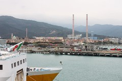 Vado Ligure Port (demeeschter) Tags: sea italy como boat harbour corsica ferries vado ligure savona