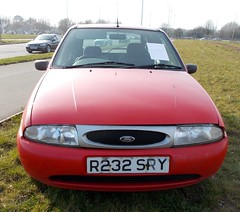 1998 FORD FIESTA 1242cc LX R232SRY (Midlands Vehicle Photographer.) Tags: ford fiesta 1998 lx 1242cc r232sry
