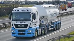 MV15 CRK (panmanstan) Tags: uk man truck wagon yorkshire transport lorry commercial vehicle a1 darrington tanker tgx