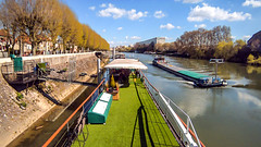 11h35 - 18 avril 2016ELIZABETH (NL) (embourioboat) Tags: paris seine boot elizabeth vessel cargo bateau pniche nederlands vaartuig woonboot binnenvaart
