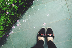 Hello (lindakuma) Tags: singapore shoes louisvuitton espadrilles flowerdome gardensbythebay
