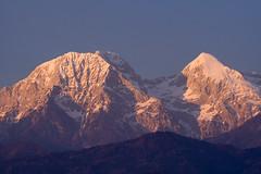 Glory (kukkudrill) Tags: sunset mountain mountains alps nature julian europe peak slovenia peaks mountaintop mountaintops