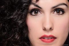 Esa mirada y belleza... (Victor Hugo Delgado) Tags: woman sexy lens mujer eyes nikon lips ojos labios 28 belleza 80200 d7100