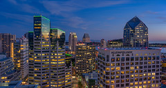 Downtown San Diego Core (without reservation) Tags: california city sunset cityscape sandiego citylights westin core columbiaplace oneamericanplaza sonya7r