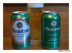 Presidente Pilsener Rpublique Dominicaine (The Beer Monk & Railway Addict) Tags: beer cerveza alcool bier birra bire beier nikon1