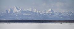 Japan. (richard.mcmanus.) Tags: winter panorama snow mountains ice japan landscape hokkaido gettyimages mcmanus nemuro shiretokomountains