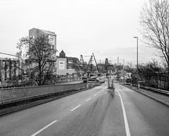 Westhafen Berlin Makina 67 (CourtLux) Tags: berlin westhafen makina67 rolleirpx400 rolleirhsdc6