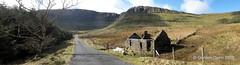 IMG_2054a (ppg_pelgis) Tags: road school ireland mountain march north sunny cliffs mining cave horseshoe derelict sligo benbulben 2016 cosligo slievemore gleniff