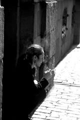 B&W (josephzohn | flickr) Tags: people blackandwhite bw svartvitt mnniskor rkpaus
