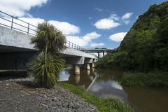 Whangamarino-Meremere Bridge (newzild) Tags: bridge newzealand reflection river long route trail hiker te distance bluff nzl capereinga tramper polariser meremere teararoa araroa whangamarino