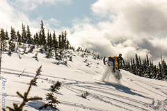 Pine Pass March_-5 (ve7org) Tags: winter snowmobiling