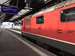 SBB Re 4/4 11154. IR2290 14.08 Zurich HB - Basel SBB (daveymills37886) Tags: zurich sbb 420 hauptbahnhof re 44 hb baureihe 11154