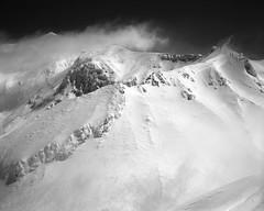 Mt.Tokachidake from Mt.Sandan (threepinner) Tags: ski japan hokkaido skiing   fujica hokkaidou 80mm f35  northernjapan kamifurano   mttokachidake  ebcfujinon mountainsnaps gf670  mtsandan taisetsunationalpark