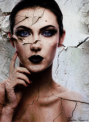 Cracked Up (Charles Ragucci Photography) Tags: art photoshop photo model manipulation texturing