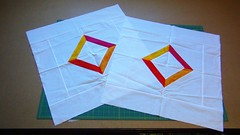 Judy Madsen quilting lesson at iquilt (KoKo Toby) Tags: modern quilt judy omg madsen machinequilting fmq