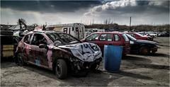 Angmering Raceway_004 (Anthony Britton) Tags: photoshop worthing bangers raceway angmering caravanracing canonesom3 1122mlens