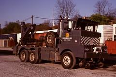 Cline Heavy Wrecker (PAcarhauler) Tags: truck coe wrecker cline cabover
