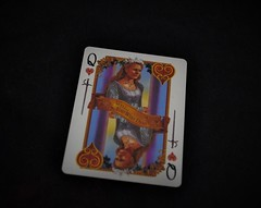 09.02 (2) (GreatWaffle) Tags: queen read card playingcard tarrot