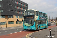 Arriva Midlands 4772 YJ56KFD (Andy4014) Tags: park bus leicester magna midlands arriva x45 yj56kfd