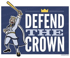 Defend The Crown (ChrisM70) Tags: illustration baseball bat ring mascot kansascity crown champions mlb royals defend the worldchampions