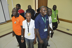 Staff in training at cassava breeding unit's team building (IITA Image Library) Tags: w breeding nigeria cassava ibadan iita manihotesculenta orkshop cassavabreedingunit