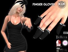 [Since 1975] Finger Gloves ([ Since 1975 ]) Tags: hand mesh finger ring full gloves accessories belleza tmp maitreya slink