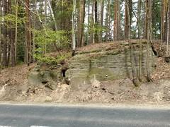 Zotoryjski Las (nesihonsu) Tags: road outcrop foothills rock forest poland polska geology sudety geologia sudeten sudetes skaa czaple pogrzekaczawskie zotoryjskilas wzniesieniapakowickie